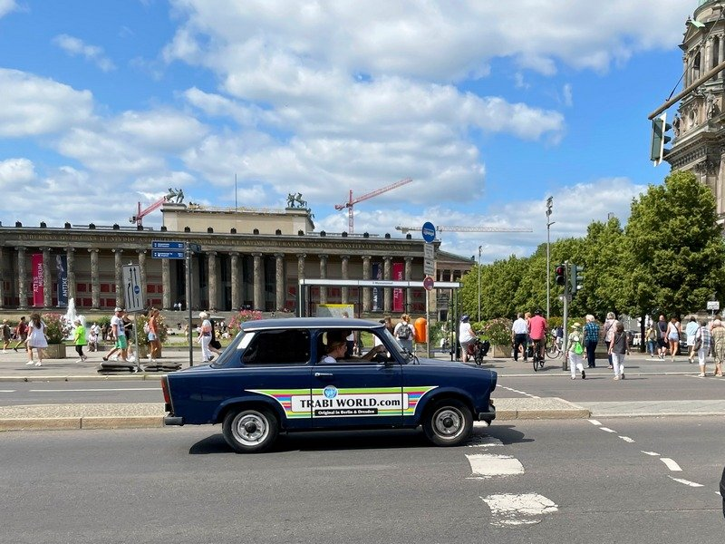 Berlin bucket list Trabi tour