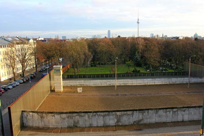 Berlin views from above Bernauer Strasse tower