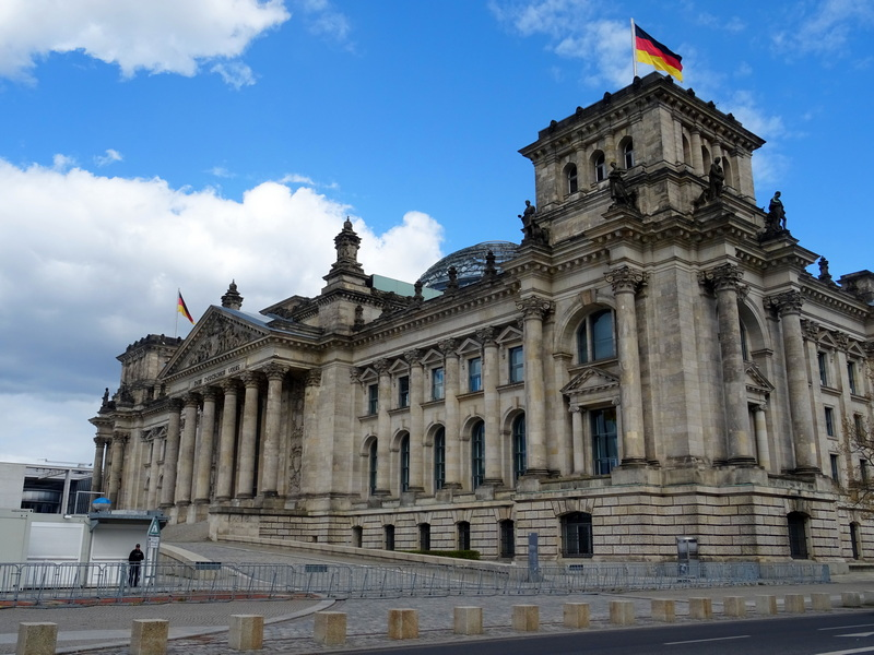 Reichstag Building Berlin itinerary