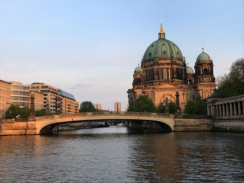 Berliner Dom on a gorgeous spring day