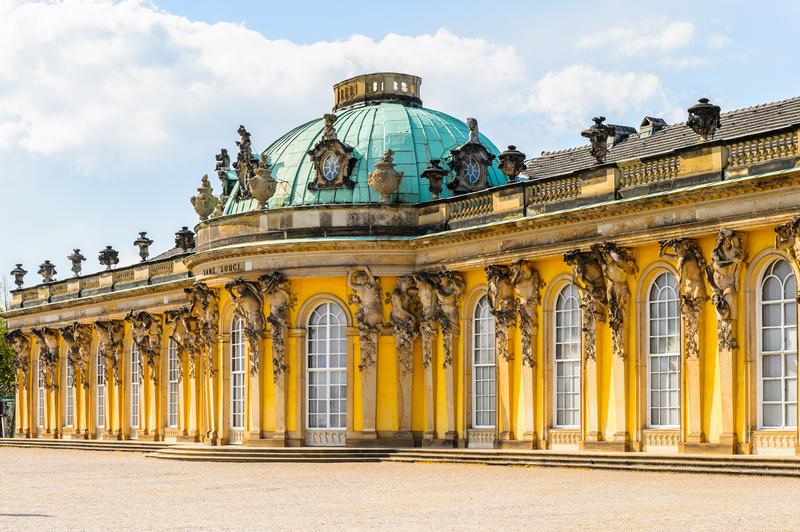Potsdam Sanssouci Palace - Potsdam day trip from Berlin