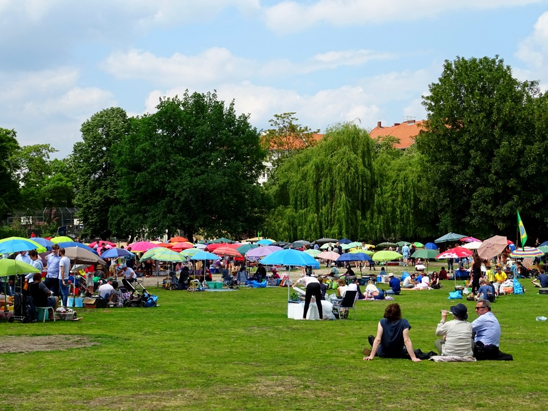 Berlin Thai Park - what to pack for Berlin in summer