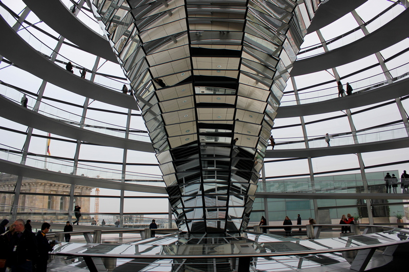 views of Berlin from the Reichstag Building