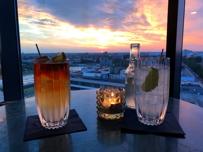 where to see Berlin from above - Andel's hotel cocktails