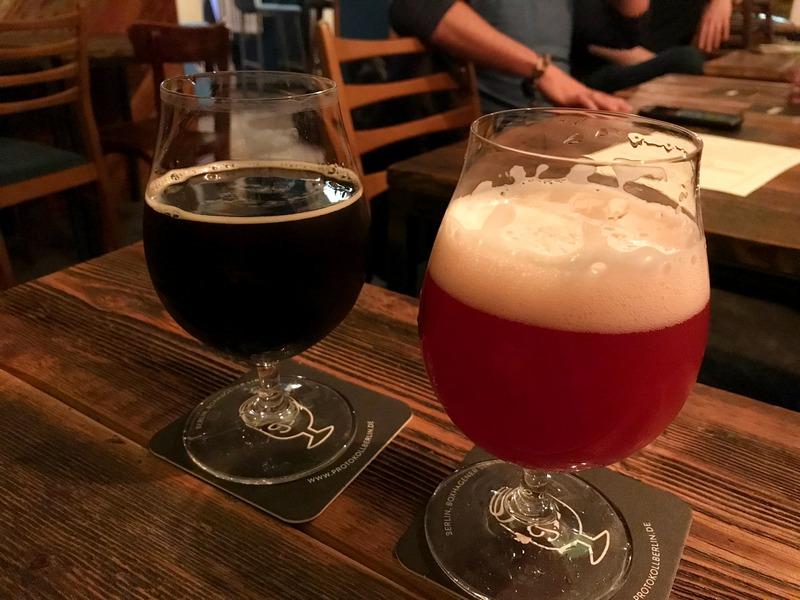 Protokoll craft beer bar in Berlin Friedrichshain - Berlin bucket list