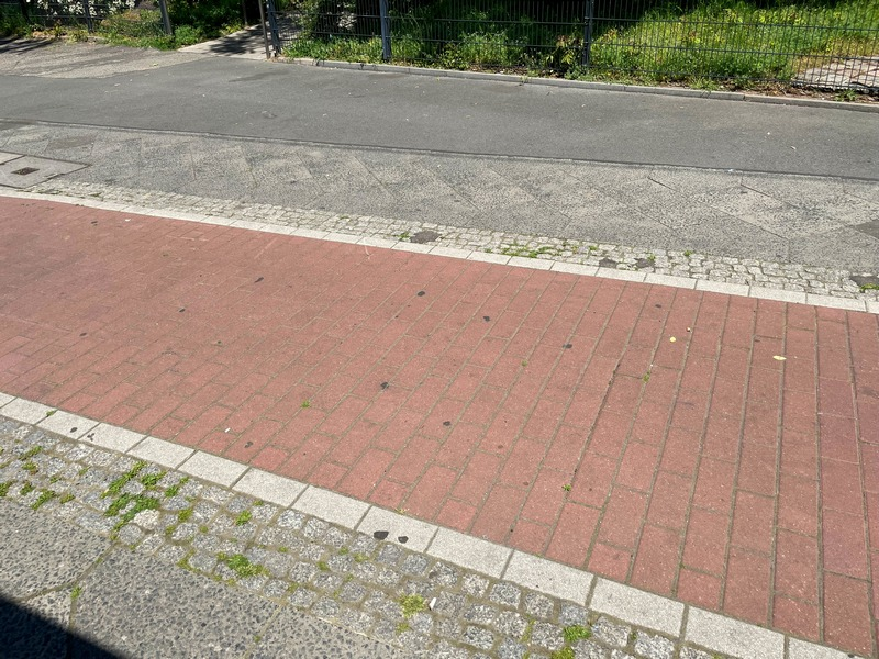 bike lane in Berlin