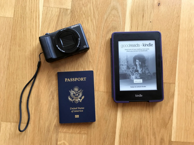 camera Kindle passport - what to pack when traveling to Germany