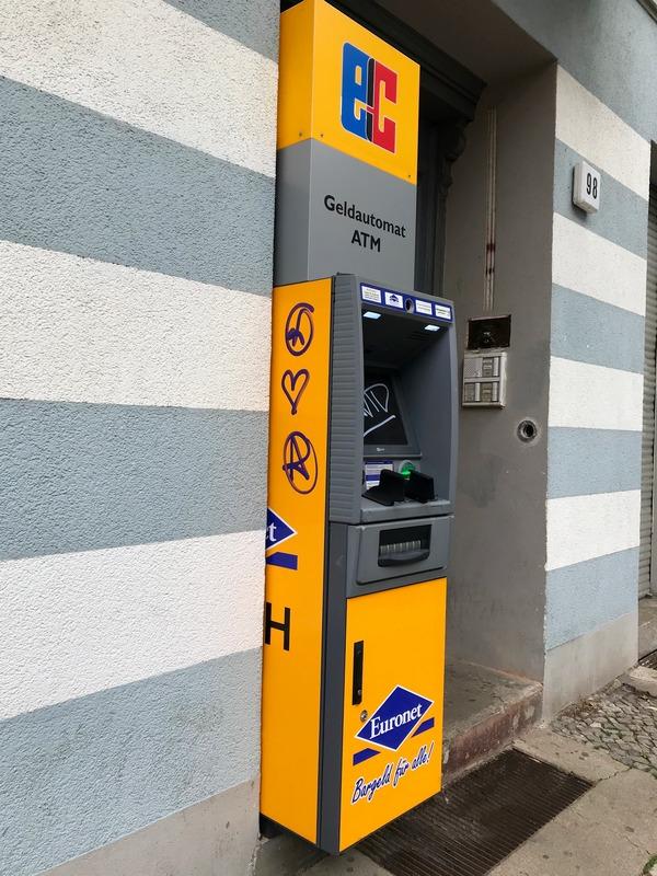 non-bank ATM in Berlin