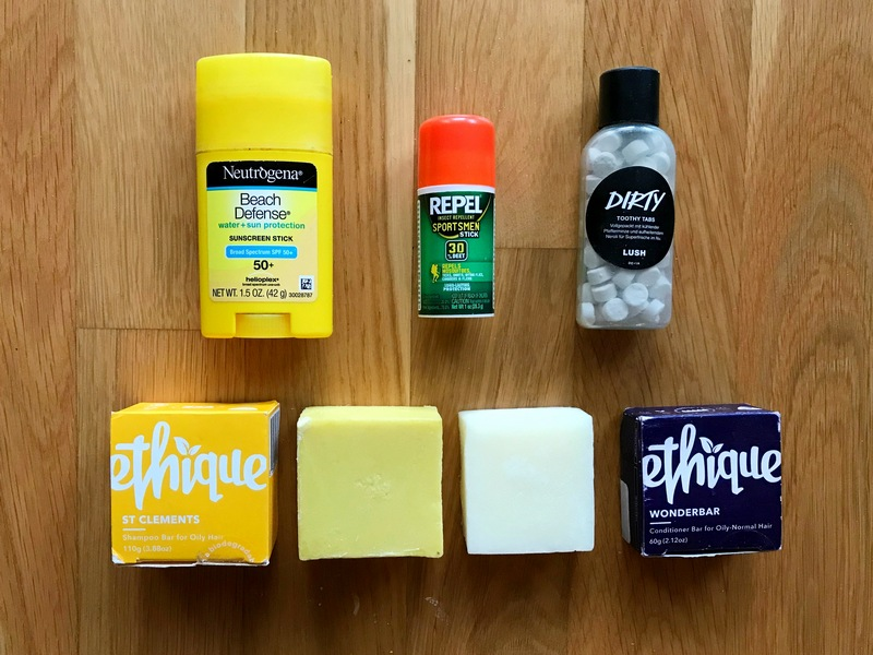 solid toiletries for your Berlin packing list