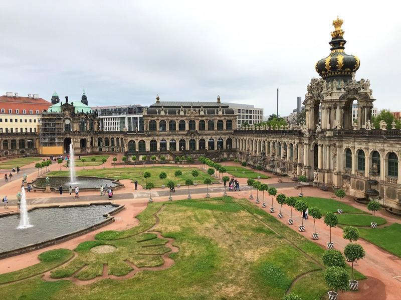 Dresden Zwinger Palace 1 week in Germany