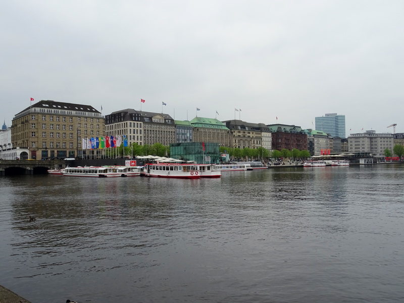 Alster Lakes Hamburg day trip from Berlin