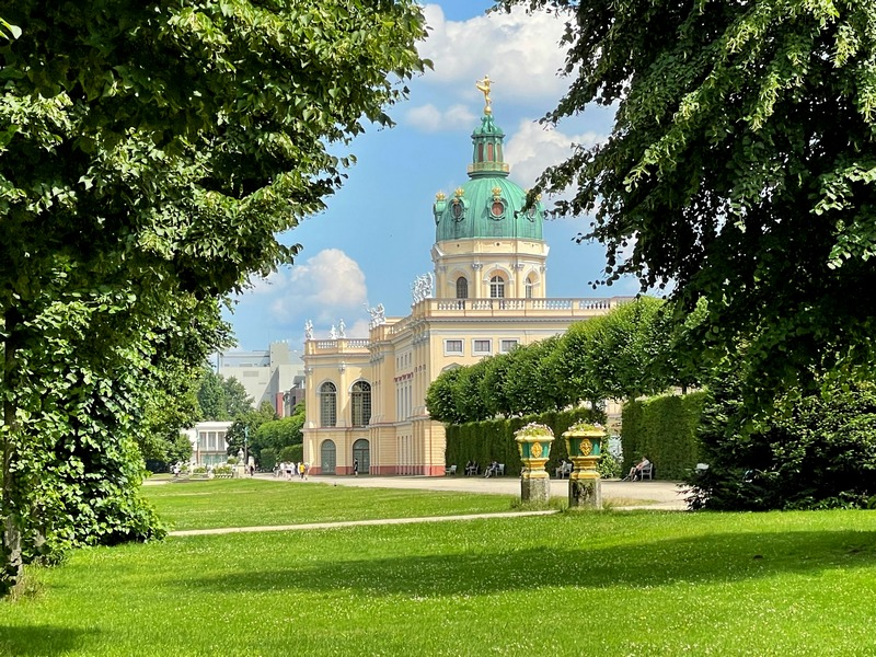 Charlottenburg Palace gardens and park Berlin