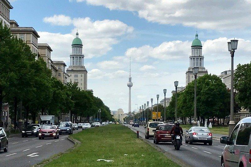 Frankfurter Tor towards Karl Marx Allee free things to do in Berlin