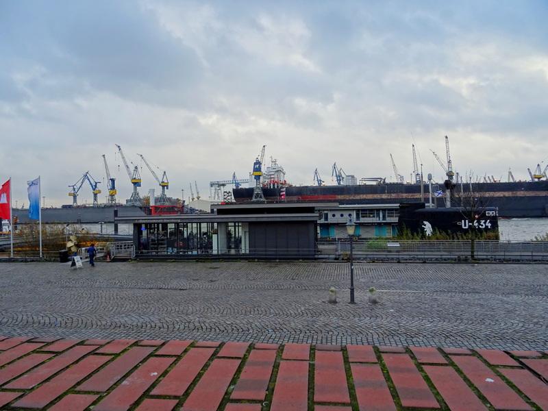 Hamburg submarine museum