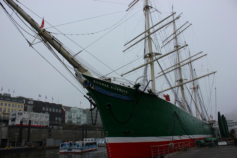 Rickmer Rickmers ship museum what to do in Hamburg day trip