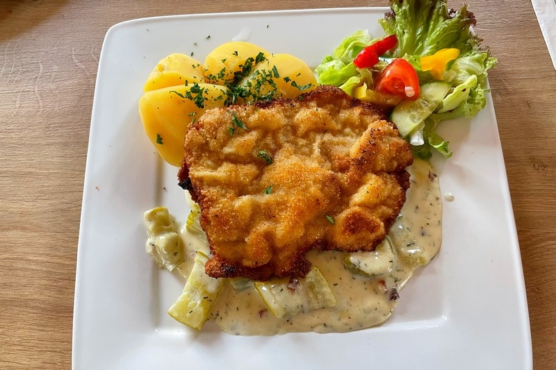 Spreewald day trip from Berlin Schnitzel and pickles