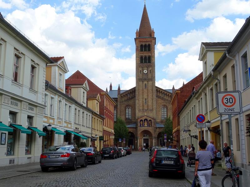 St Peter and St Paul Church Brandenburger Str Potsdam day trip
