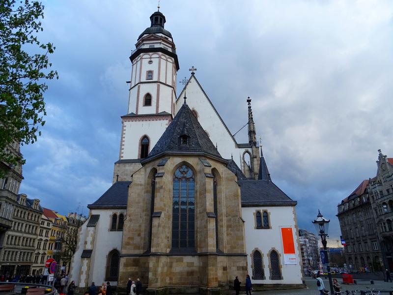 St Thomas Church Leipzig day trip from Berlin