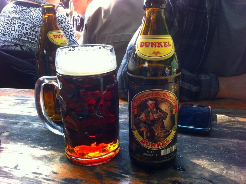 dark beer in Munich Germany