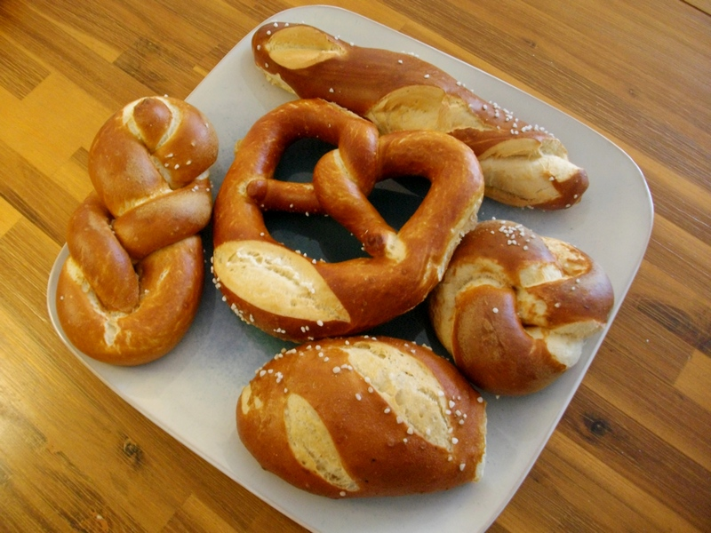 pretzels - what do they eat in Germany