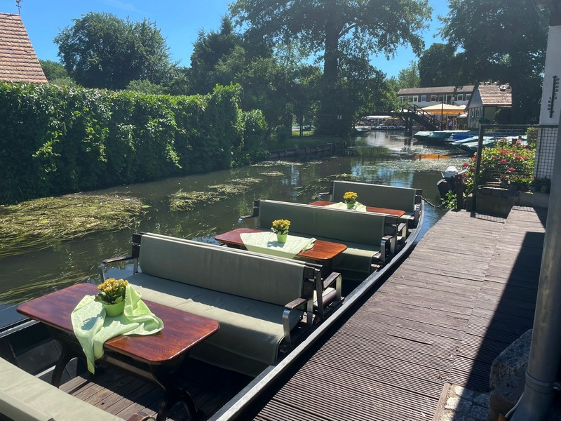 punt boat in the Spreewald