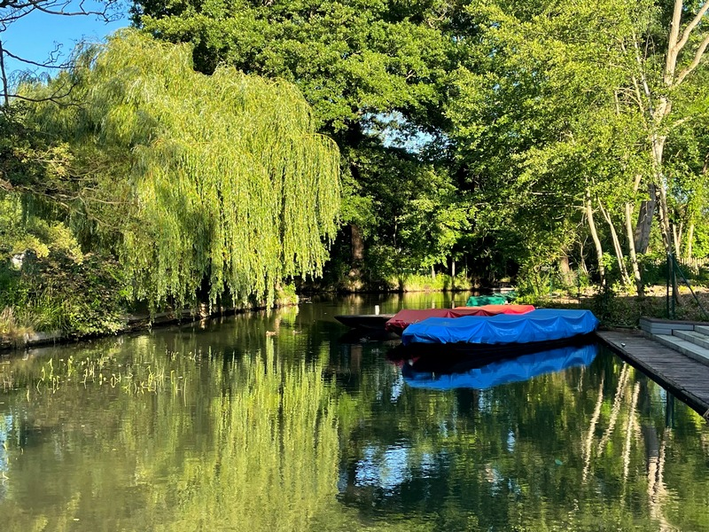 small harbor in the Spreewald - things to do in Spreewald on a day trip from Berlin