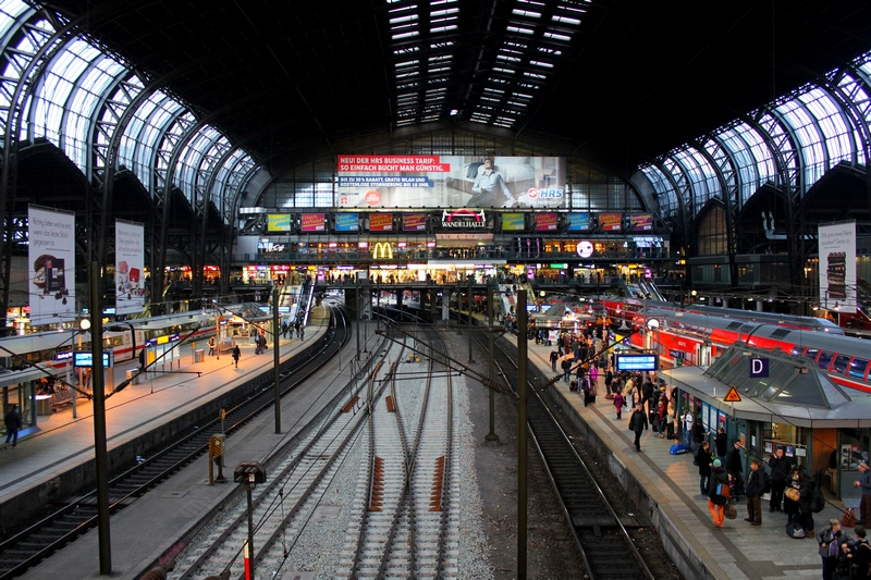 train station - transportation in Germany - how to get around Germany by train or bus