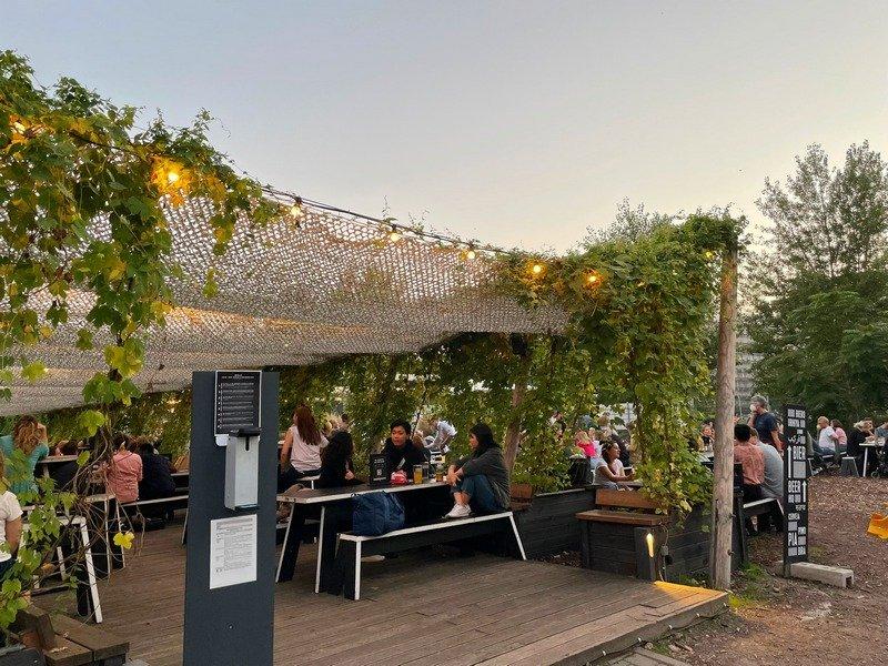 BRLO beer garden Berlin