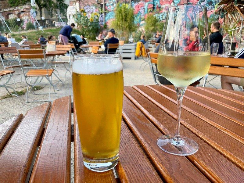 best Berlin beer gardens Schalander