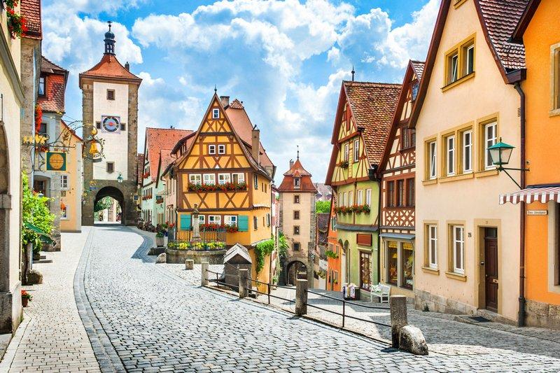 Germany bucket list Rothenburg